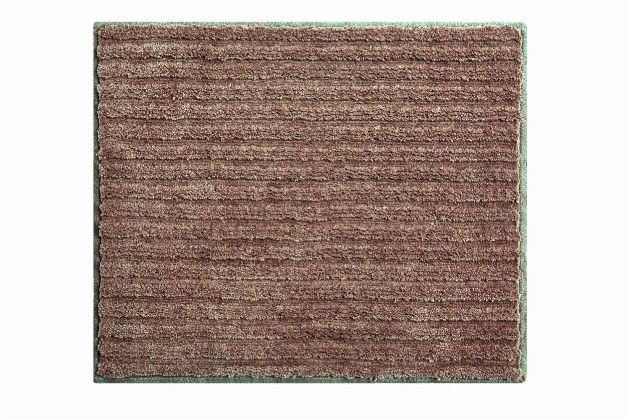 Riffle - Koupelnová předložka malá 50x60 cm (čoko-smetanová)