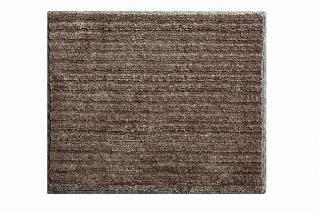 Riffle - Koupelnová předložka malá 50x60 cm (kakaová)
