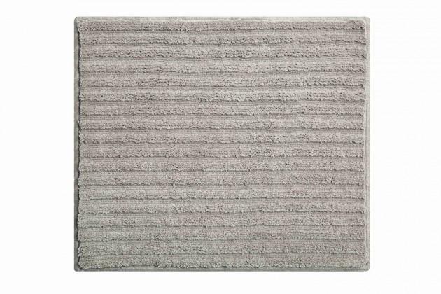 Riffle - Koupelnová předložka malá 50x60 cm (šedá)