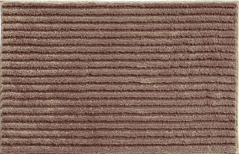 Riffle - Malá předložka 50x60 cm (čoko krémová)