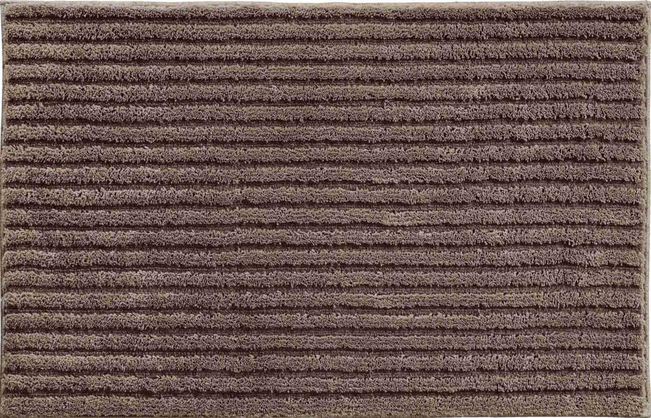 Riffle - Malá předložka 50x60 cm (kakaová)