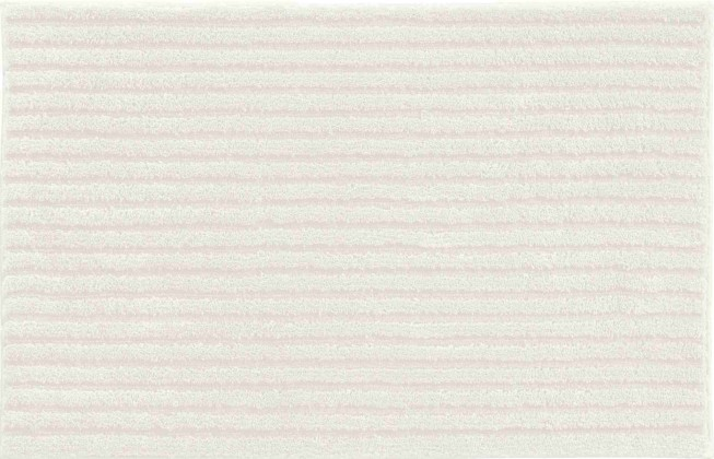 Riffle - Malá předložka 50x60 cm (krémová)