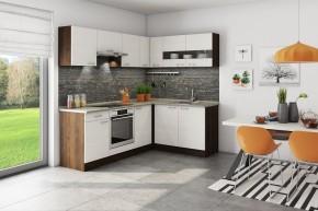 Rohová kuchyně Nina pravý roh 220x160 cm - II. jakost