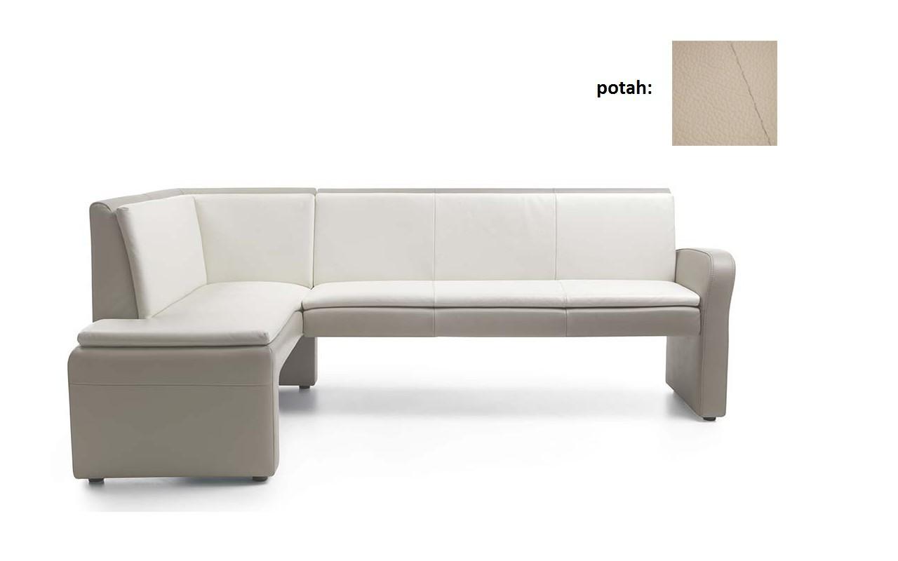 Rohová lavice Cortado - velká (madras G - 105, nit 2)