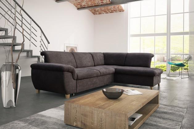Rohová sedací souprava Arte - Roh pravý, rozkládací, úložný prostor (lugano 27)