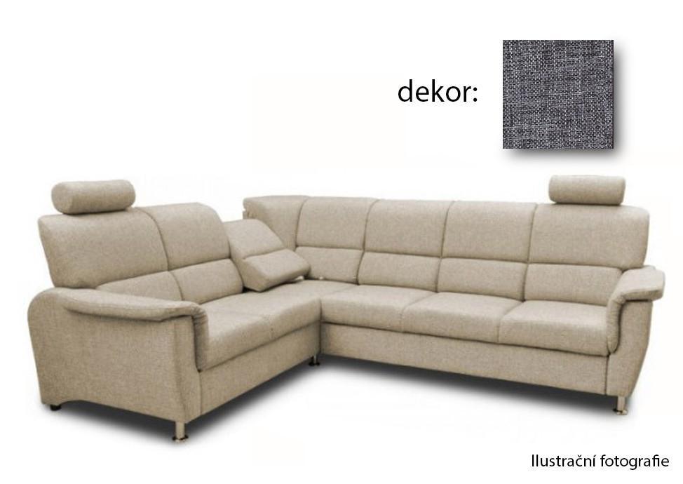 Rohová sedací souprava Duo Panama - roh levý, relaxační funkce (afryka 730)