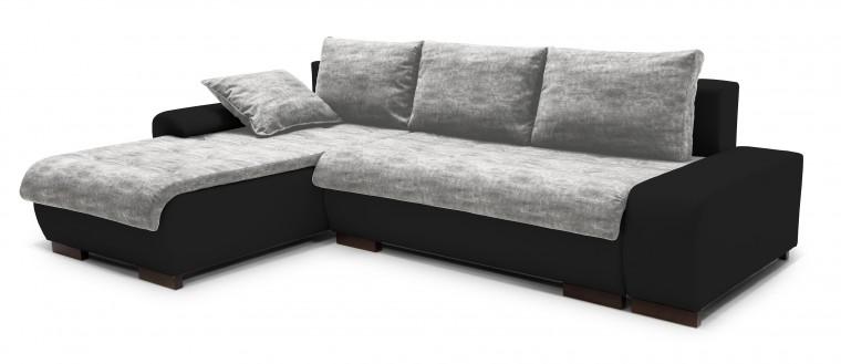 Rohová sedací souprava Florenz - roh levý (soft 11, korpus/balaton 90, sedák)