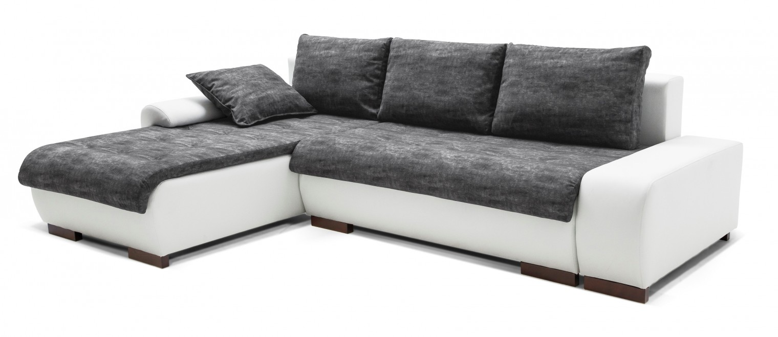 Rohová sedací souprava Florenz - roh levý (soft 17, korpus/balaton 95, sedák)