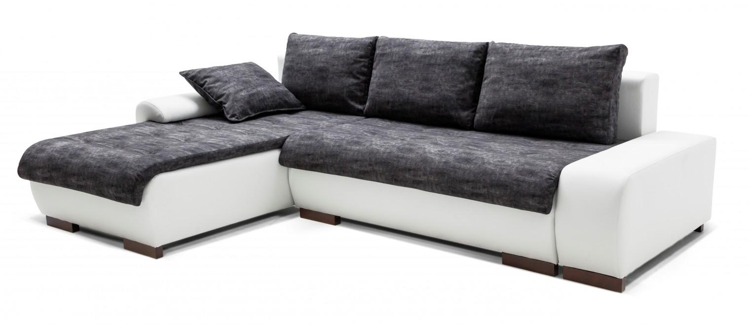 Rohová sedací souprava Florenz - roh levý (soft 17, korpus/gonzales 2909, sedák)