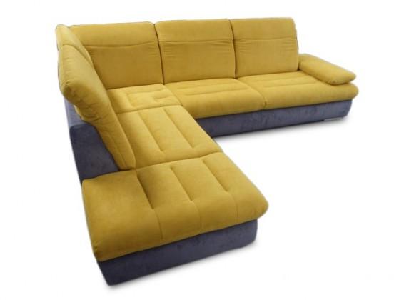 Rohová sedací souprava Glamour - Sedací souprava 3-sedák, 1,5-sedák, roh levý