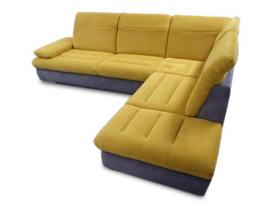 Rohová sedací souprava Glamour - Sedací souprava 3-sedák, 1,5-sedák, roh pravý