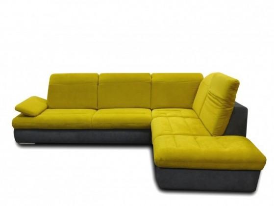 Rohová sedací souprava Glamour - Sedací souprava, roh pravý, polohovatelná područka