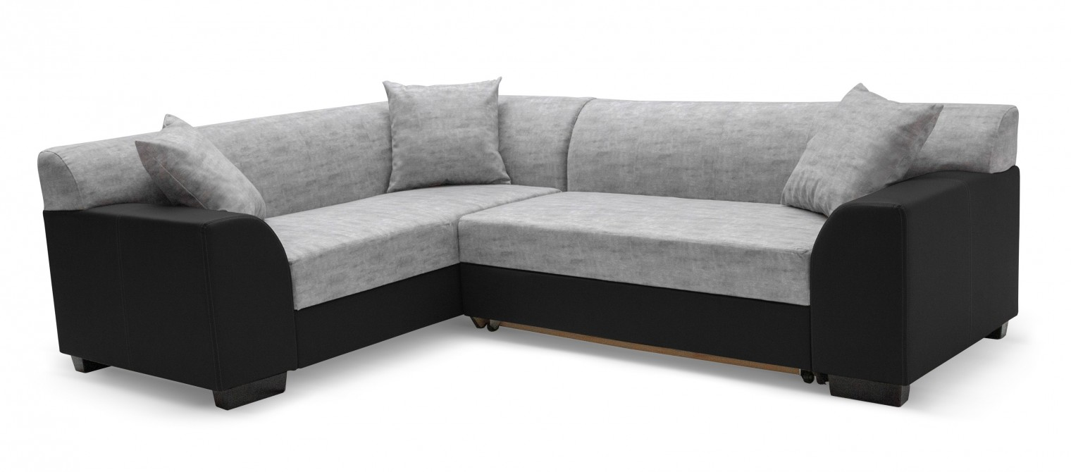 Rohová sedací souprava Hilton - Roh levý, rozkládací (soft 11, korpus/baku 1, sedák)
