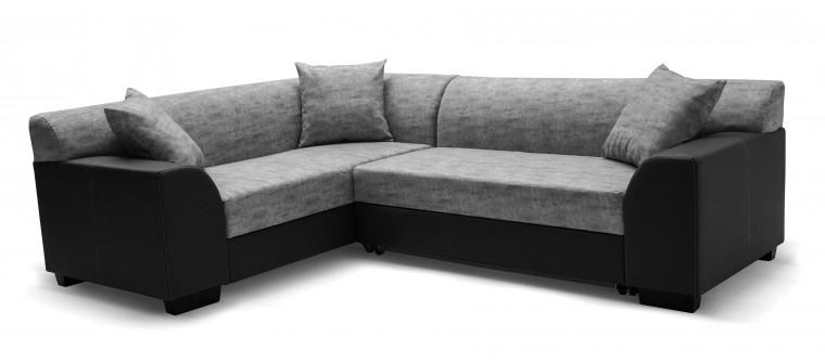 Rohová sedací souprava Hilton - Roh levý, rozkládací (soft 11, korpus/baku 4, sedák)