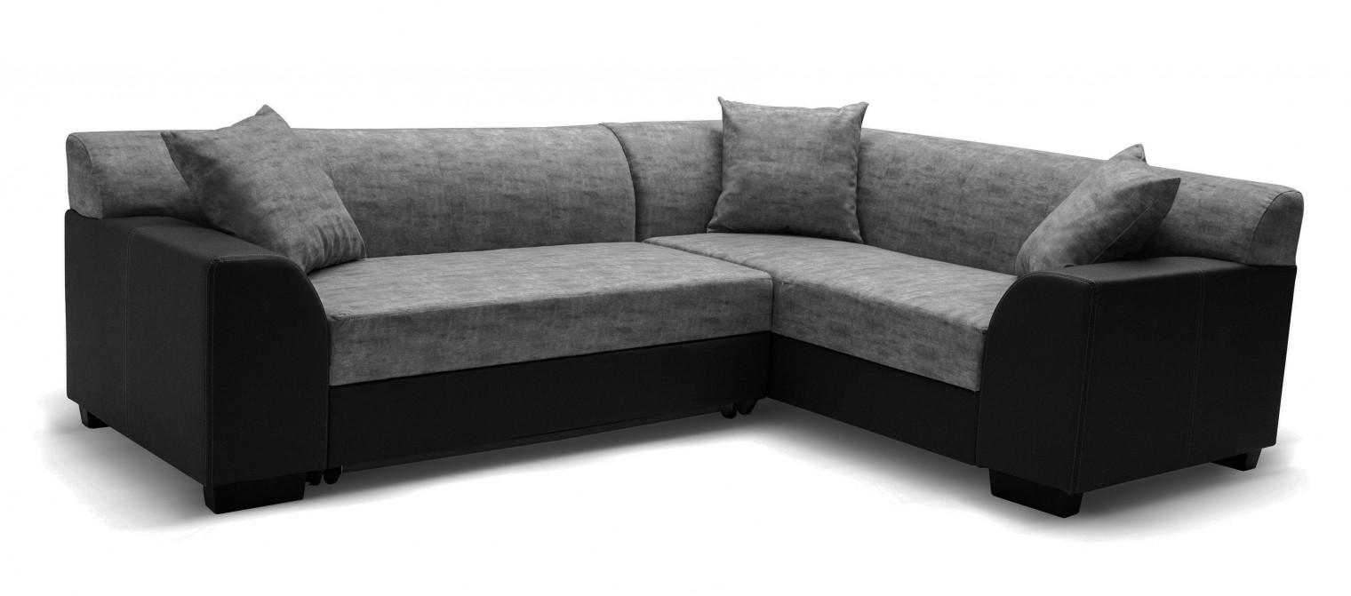 Rohová sedací souprava Hilton - Roh pravý, rozkládací (soft 11, korpus/baku 4, sedák)