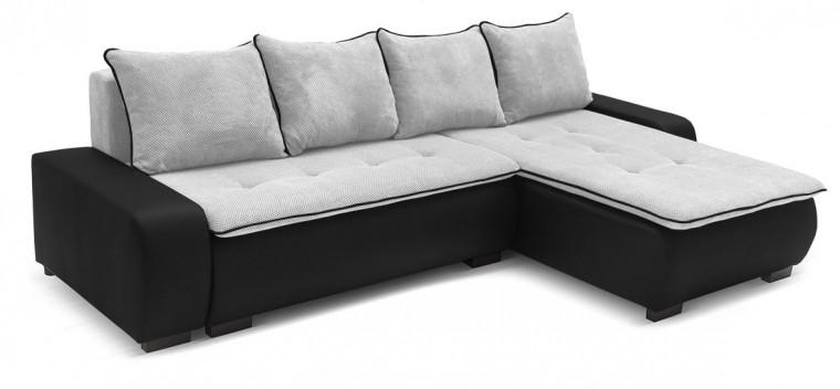 Rohová sedací souprava Karl - roh univerzální (soft 11, korpus/dot 90, sedák)