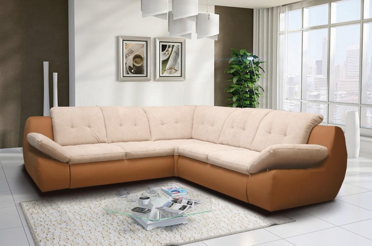 Rohová sedací souprava Mello - Roh levý, rozklad, úložný prostor (mindelo 5/mindelo 1)