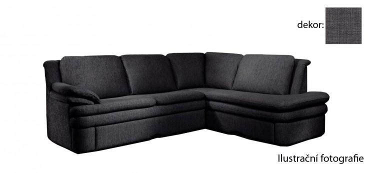 Rohová sedací souprava Ostia - pravý roh (chili - grey C218, sk. AD)