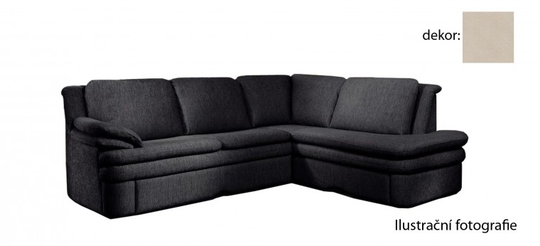 Rohová sedací souprava Ostia - pravý roh (new lucca  - beige P702, sk. E1)