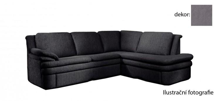 Rohová sedací souprava Ostia - pravý roh (new lucca  - darkgrey P701, sk. E1)