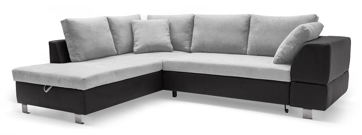 Rohová sedací souprava Ravenna - Roh levý (soft 11, korpus/dot 90, sedák)