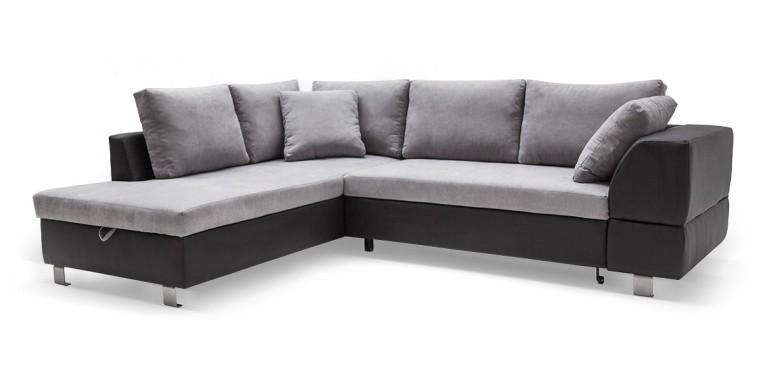 Rohová sedací souprava Ravenna - Roh levý (soft 11, korpus/soro 90, sedák)