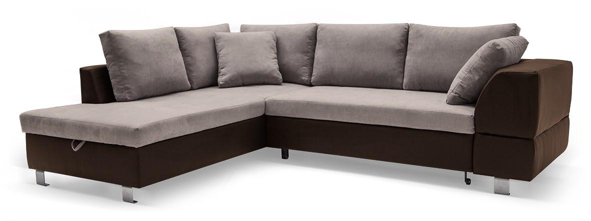 Rohová sedací souprava Ravenna - Roh levý (soft 66, korpus/dot 22, sedák)