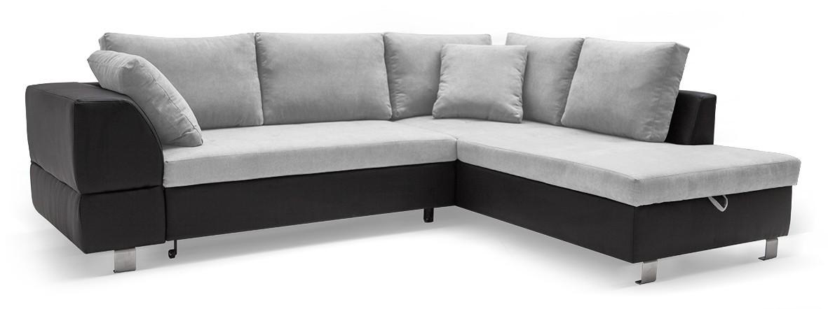 Rohová sedací souprava Ravenna - Roh pravý (soft 11, korpus/dot 90, sedák)