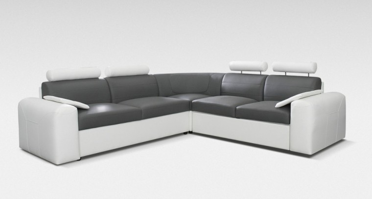 Rohová sedací souprava Rohová sedačka rozkl. Mega-XL levá (cayenne 1115/cayenne 1119)