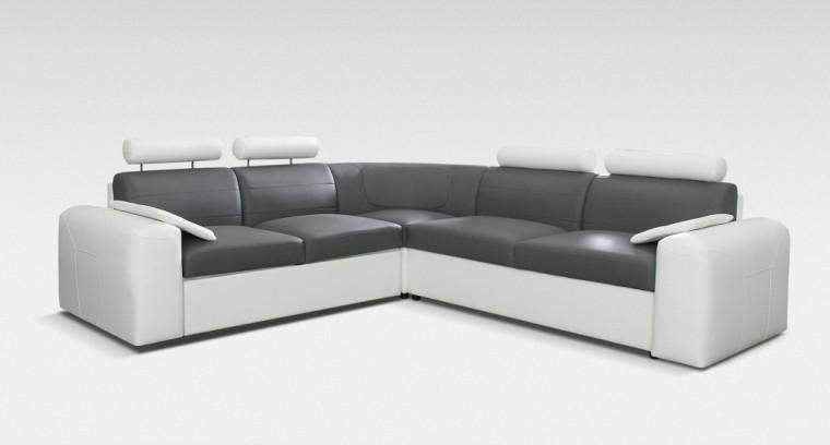 Rohová sedací souprava Rohová sedačka rozkl. Mega-XL pravá (cayenne 1115/cayenne 1119)