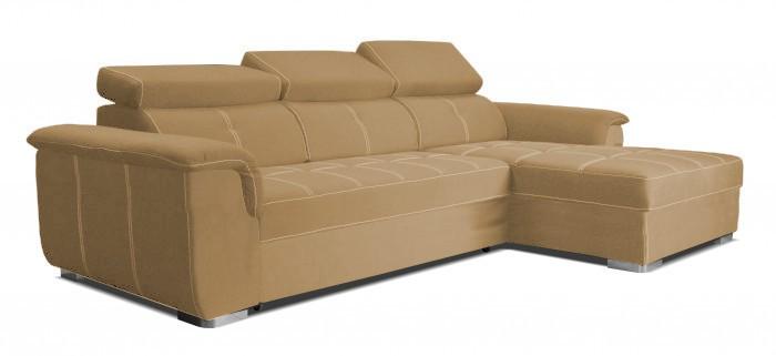 Rohová sedací souprava Rohová sedačka rozkládací Albion pravý roh (Avila 3/prošití 2547)