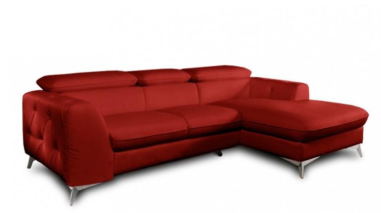 Rohová sedací souprava Rohová sedačka rozkládací Cobra pravý roh (látka)
