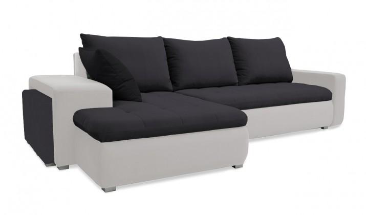 Rohová sedací souprava Rohová sedačka rozkládací Demi levý roh (korpus-bella 12, látka)