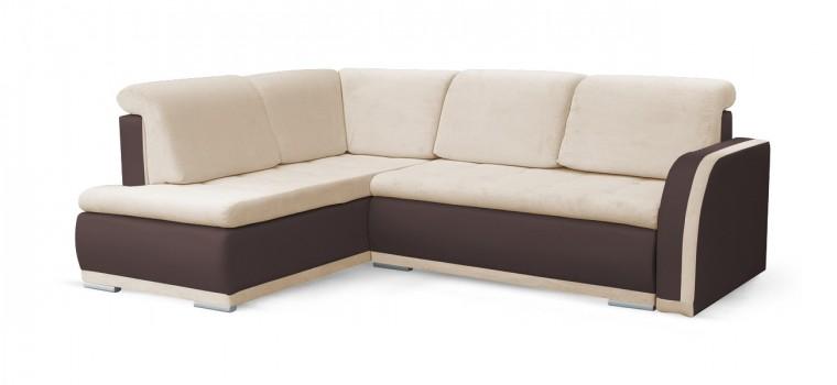 Rohová sedací souprava Rohová sedačka rozkládací Erik levý roh (korpus - soft 66)