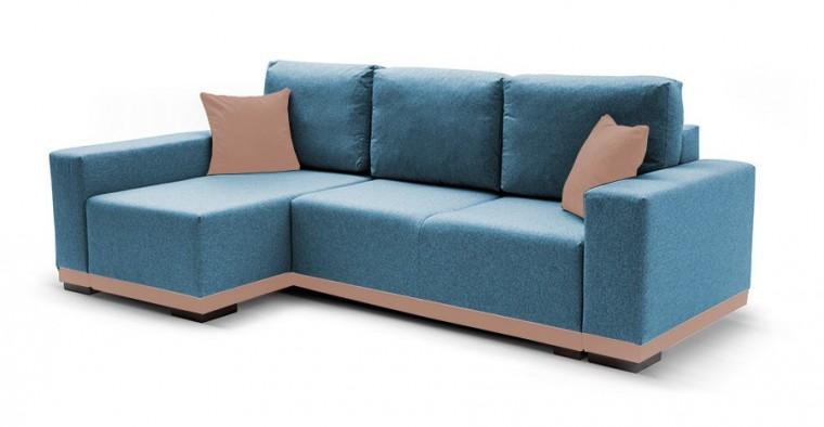 Rohová sedací souprava Rohová sedačka rozkládací Ivo levý roh (potah - trinity13,látka)