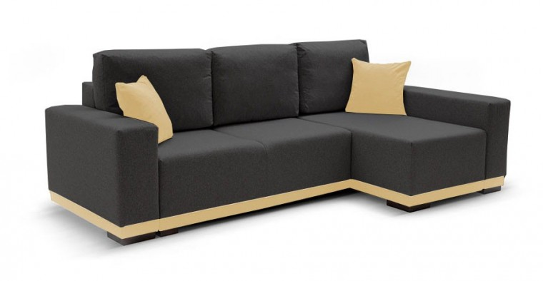 Rohová sedací souprava Rohová sedačka rozkládací Ivo pravý roh (potah - baku 2,látka)