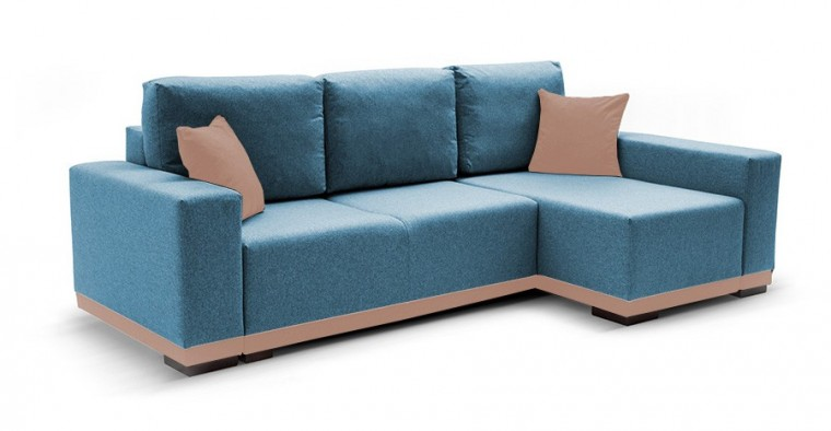 Rohová sedací souprava Rohová sedačka rozkládací Ivo pravý roh (potah-trinity13,látka)