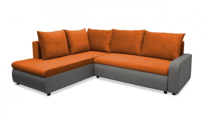 Rohová sedací souprava Rohová sedačka rozkládací Linz levá (korpus-bella 14, látka)