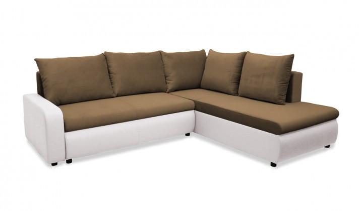 Rohová sedací souprava Rohová sedačka rozkládací Linz pravá (korpus-madryt new 120)