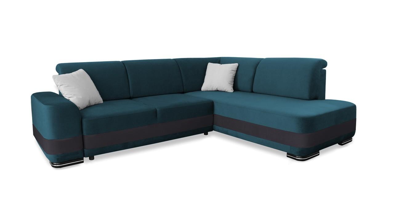 Rohová sedací souprava Rohová sedačka rozkládací Logan pravý roh (casablanca 2313)