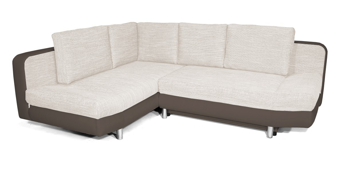 Rohová sedací souprava Rohová sedačka rozkládací Look levý roh (korpus - cayenne 1122)