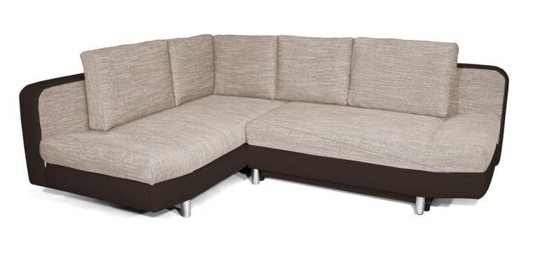 Rohová sedací souprava Rohová sedačka rozkládací Look levý roh (korpus - soft 66)