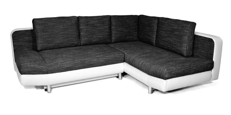 Rohová sedací souprava Rohová sedačka rozkládací Look pravý roh (korpus - soft 17)