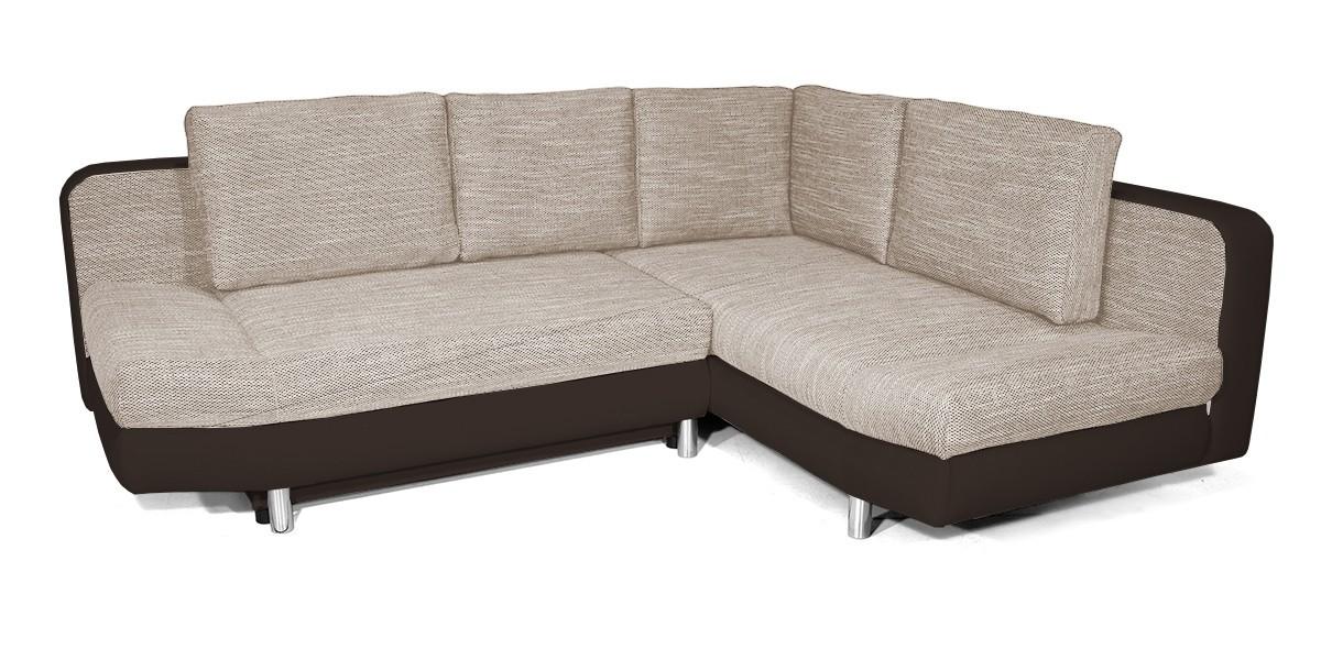 Rohová sedací souprava Rohová sedačka rozkládací Look pravý roh (korpus - soft 66)