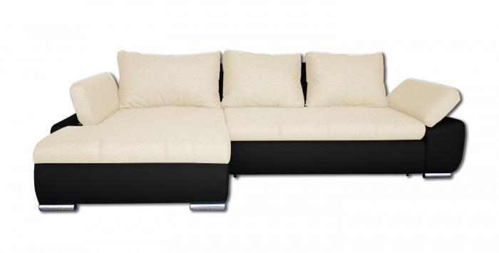 Rohová sedací souprava Rohová sedačka rozkládací Loona levý roh (madryt 1100/sun 21)