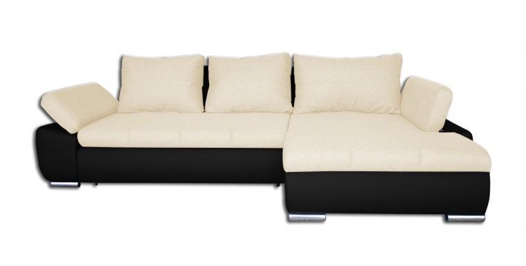 Rohová sedací souprava Rohová sedačka rozkládací Loona pravý roh (korpus-madryt 1100)