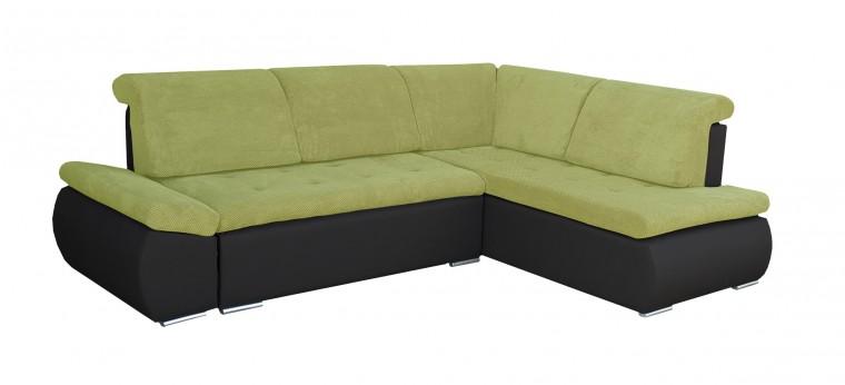 Rohová sedací souprava Rohová sedačka rozkládací Marco pravý roh (korpus - soft 11)