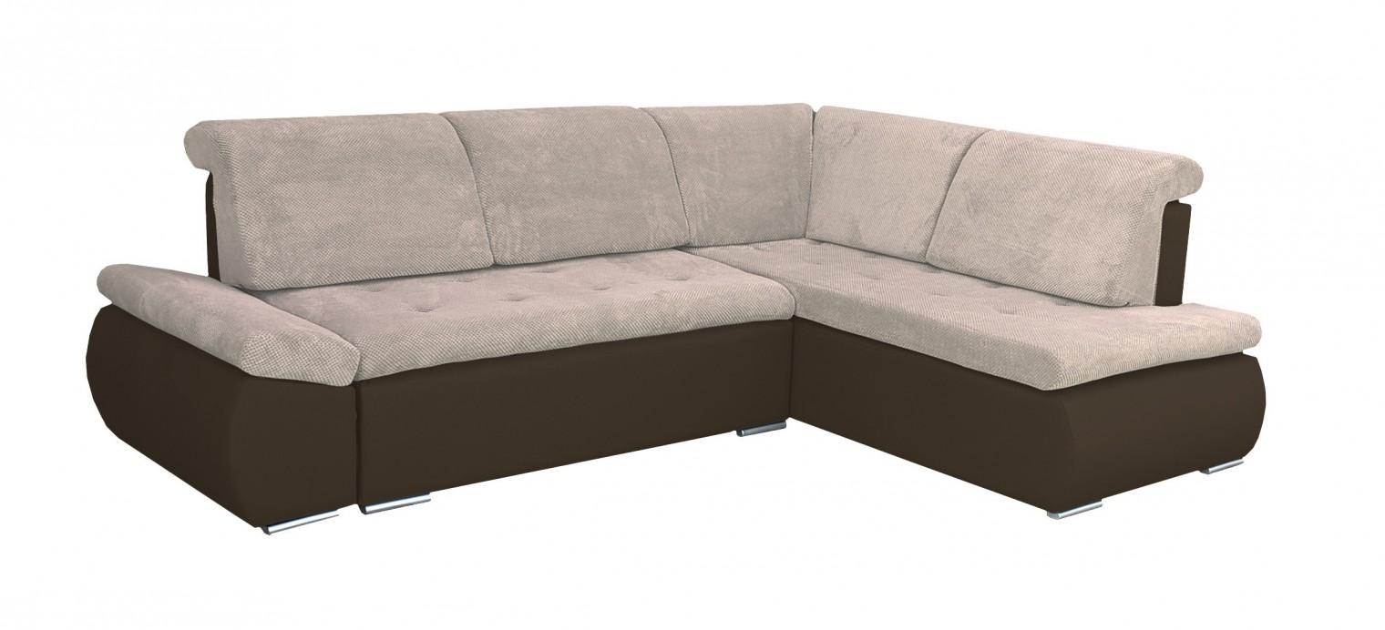 Rohová sedací souprava Rohová sedačka rozkládací Marco pravý roh (korpus - soft 66)