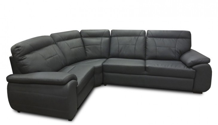Rohová sedací souprava Rohová sedačka rozkládací Maxi sleep levý roh (eko kůže)