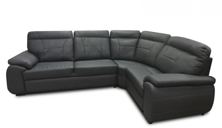 Rohová sedací souprava Rohová sedačka rozkládací Maxi sleep pravý roh (eko kůže)